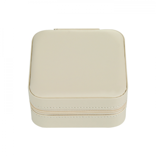 Travel Box Sieraden Koffer - Off White