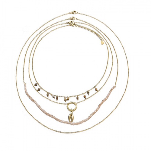 Ketting Set Deluxe met 4 losse kettingen - Goud