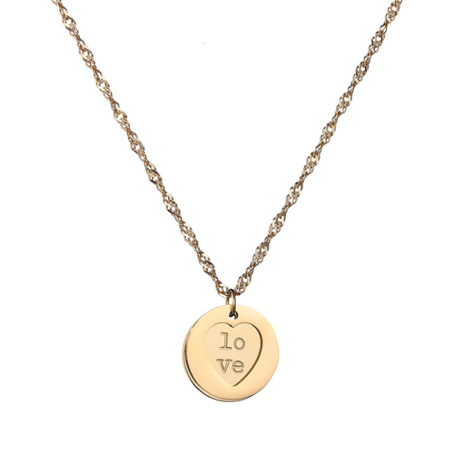 Family Love Ketting - Goud