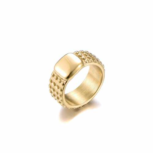 Statement ring goud